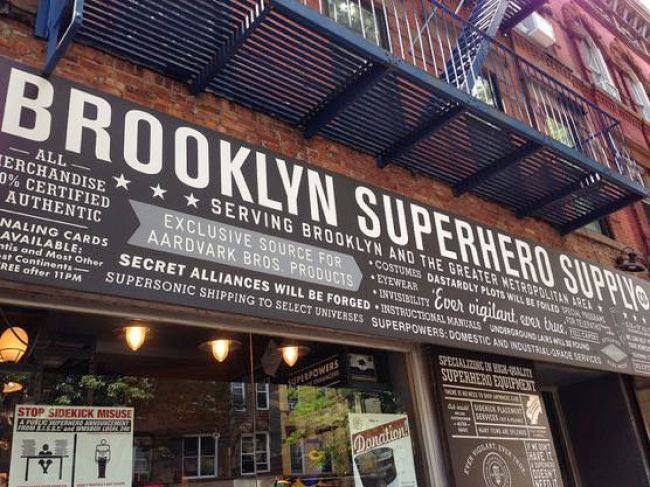 Brooklyn Superhero Supply外観