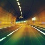 那覇うみそらトンネルで電波ジャック⁉︎→工事のお知らせでした。