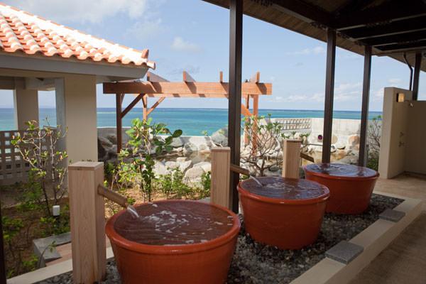 瀬長島ホテルの温泉