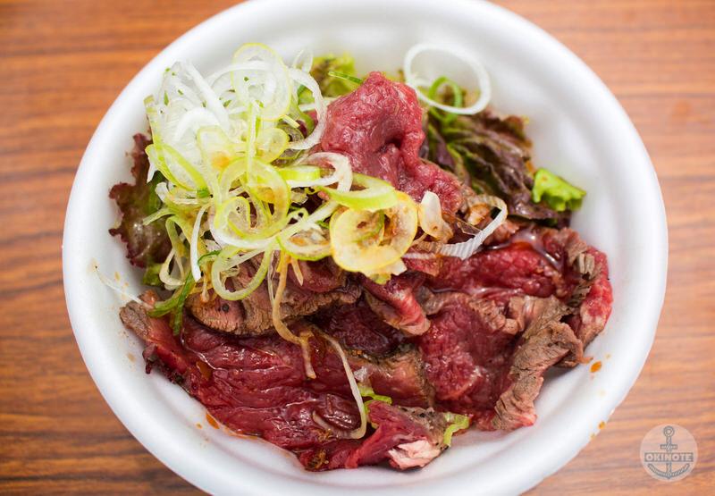 肉フェスタのローストビーフ丼