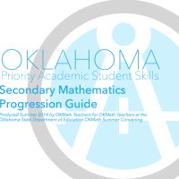 Secondary Math Progression Guide