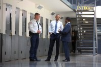 President Obama during his visit to the federal prison in Enid, Oklahoma