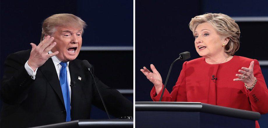 Debate Round 1: Hillary vs. Donald