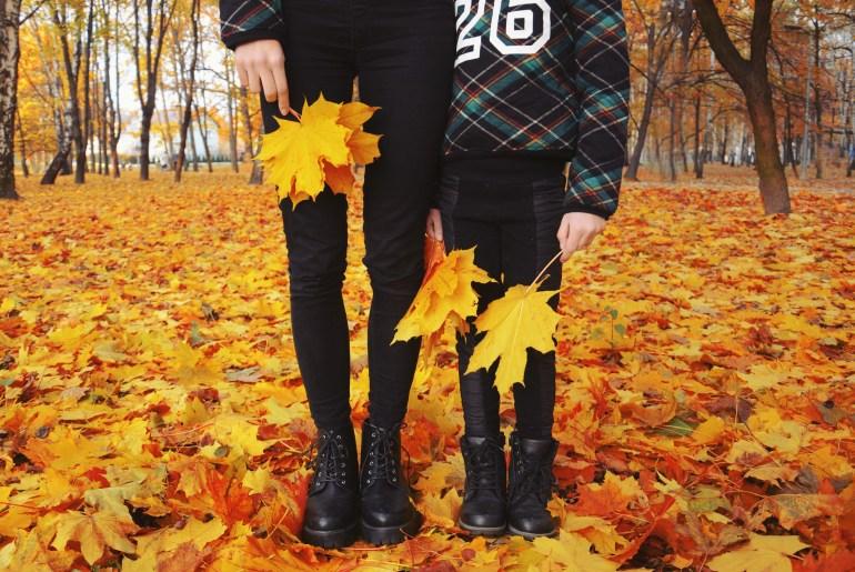 glany jesień