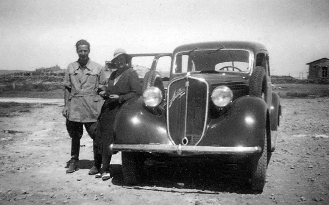 A Housewife Spying on the Italians in Ethiopia in 1939?