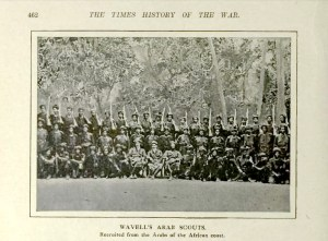 wavell's scouts WWI