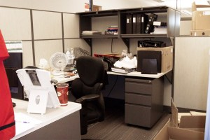 Cubicle - Moving In