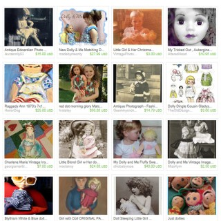 My Dolly – Etsy Treasury