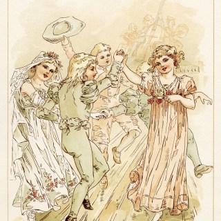 Vintage Storybook Wedding Dance