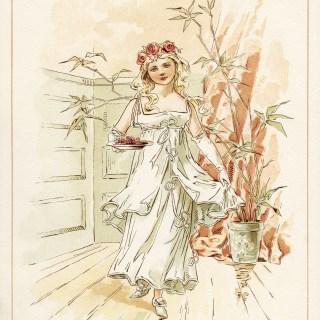 Vintage Storybook Bridesmaid