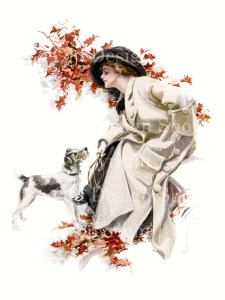harrison fisher, can't you speak, victorian lady, jack russell