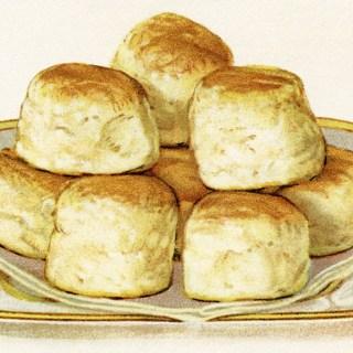 Baking Powder Biscuits Vintage Image