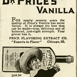 Free Digital Image ~ Dr. Price's Vanilla Ad