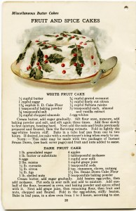 free vintage clipart Christmas, vintage Christmas fruitcake recipe, antique spice cake recipe, Christmas cake