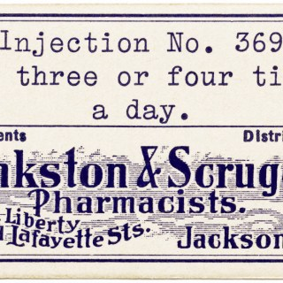 Pharmacy Label Free Vintage Image