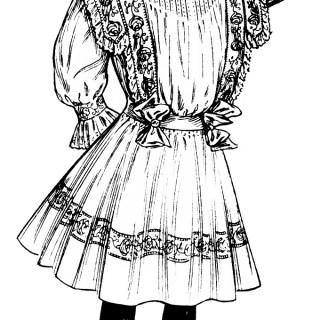 Victorian Girl Clipart
