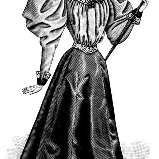 Free Vintage Image ~ Victorian Lady Clip Art