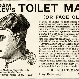 Madam Rowley's Toilet Mask Ad