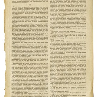 Free Vintage Graphic ~ Full Page of French Text