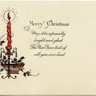 Free Vintage Image ~ Antique Christmas Card