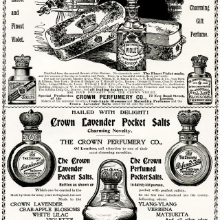 Crown Perfumery Co. Gift Perfumes Ad
