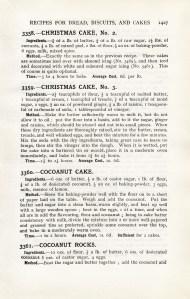 vintage cookbook page, christmas cake recipe, mrs beeton christmas cake, free vintage recipe, old fashioned christmas cake