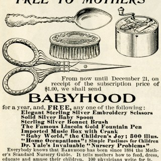 Free Vintage Image ~ Magazine Advertisement 1897