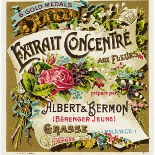 Extrait Concentre Aux Fleurs French Label