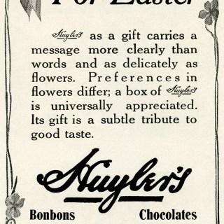 Free Vintage Image ~ Chocolates for Easter Magazine Ad