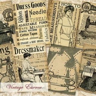 New in myEtsy Shop ~ Old Fashioned Sewing Cards