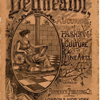 Delineator Magazine Cover Nov 1891