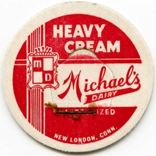 Free Vintage Image ~ Michael's Dairy Milk Bottle Cap