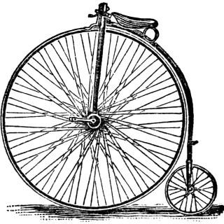 Victor Bicycles ~ Free Vintage Clip Art