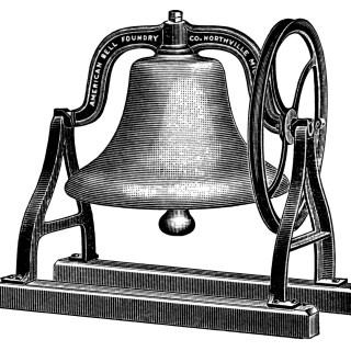 Free Vintage Image ~ School Bell