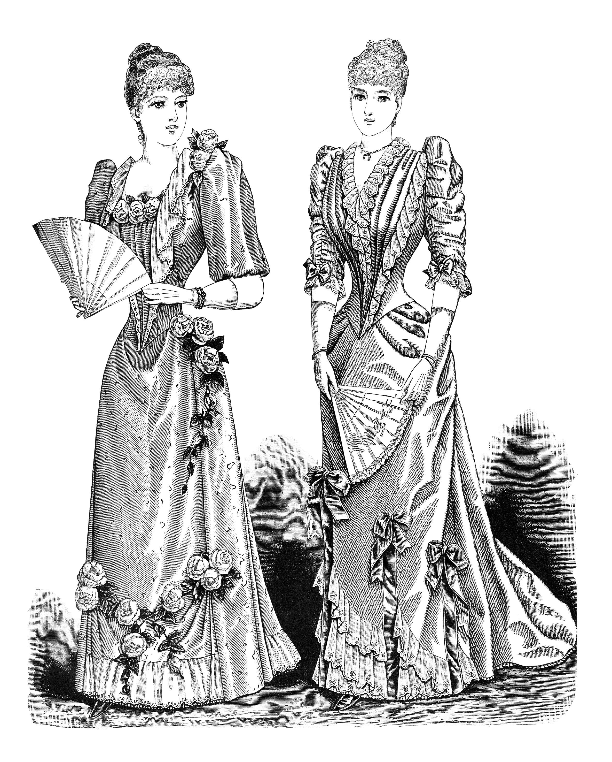 free vintage victorian ladies'