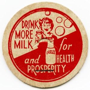 vintage milk bottle cap, printable milk graphics, antique cardboard milk lid, free vintage ephemera, beverage clip art