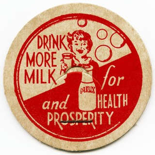 Milk for Health and Prosperity Bottle Cap