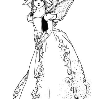 Free Vintage Image ~ Sweet Pea Storybook Character