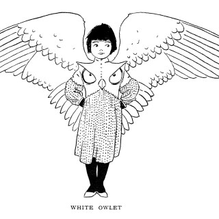 Free Vintage Image ~ White Owlet Storybook Character
