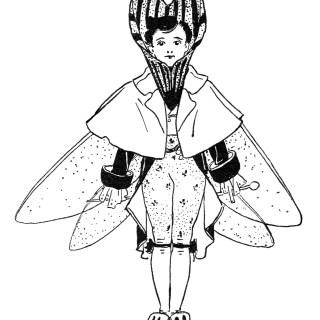 Free Vintage Image ~ Jack-O'-Lantern Storybook Character