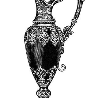Mantel Ornament Rhodian Pitcher Clip Art