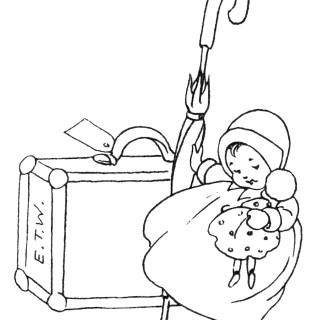 Vintage Baby Clip Art ~ A Little Journey