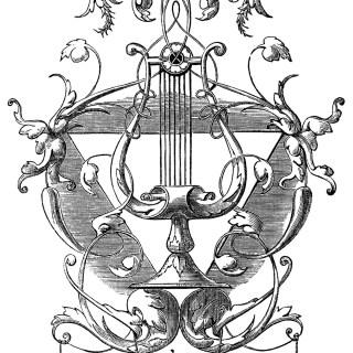 Ornamental Harp Design