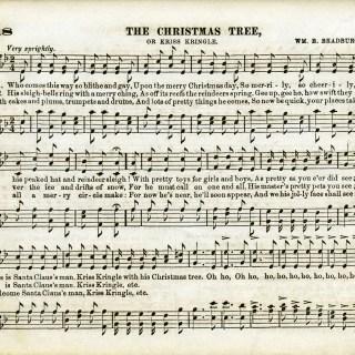 The Christmas Tree Sheet Music