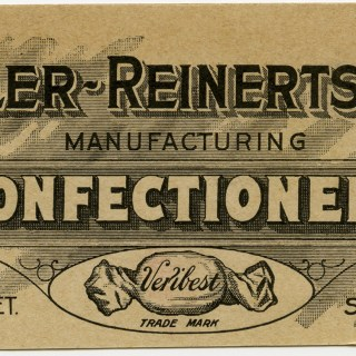Free Vintage Advertising Card Graphic ~ Ziegler-Reinertsen Confectioners