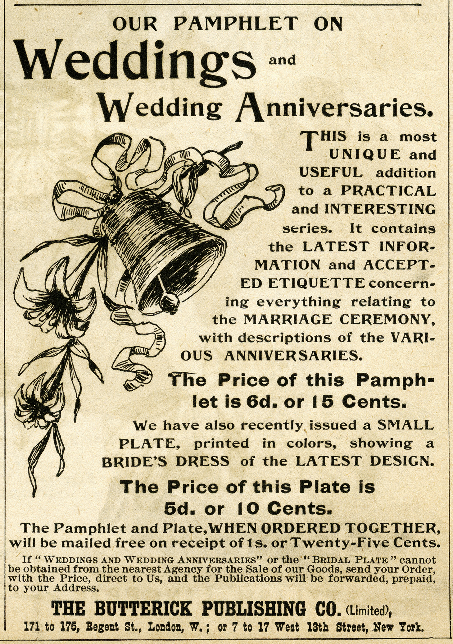 Vintage Wedding Magazine Ad And Clip Art Free Digital Images