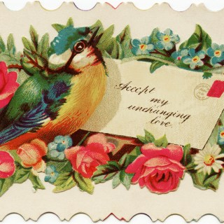 Victorian Calling Card ~ Free Vintage Image