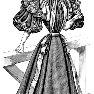 Victorian Ladies' Costume 1895