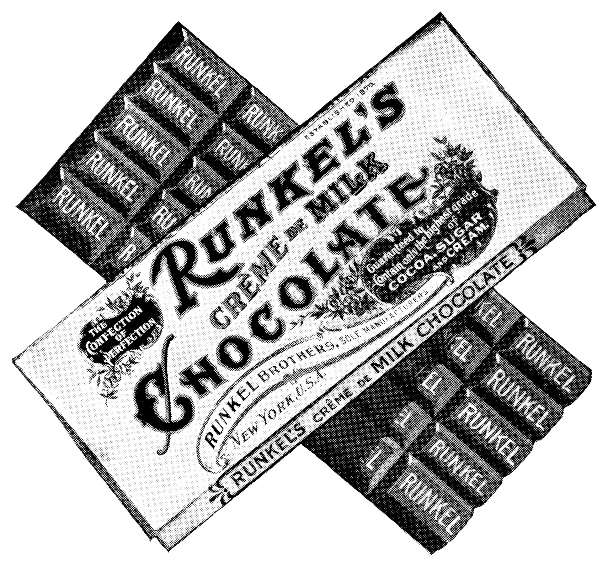 Candy Bar Clipart Black And White