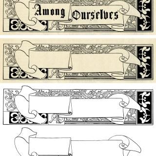Christmas Frame ~ Free Vintage Clip Art